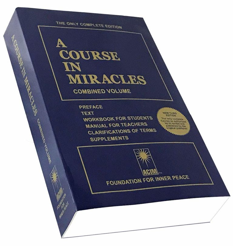 Course in Miracles It Is What It Is
